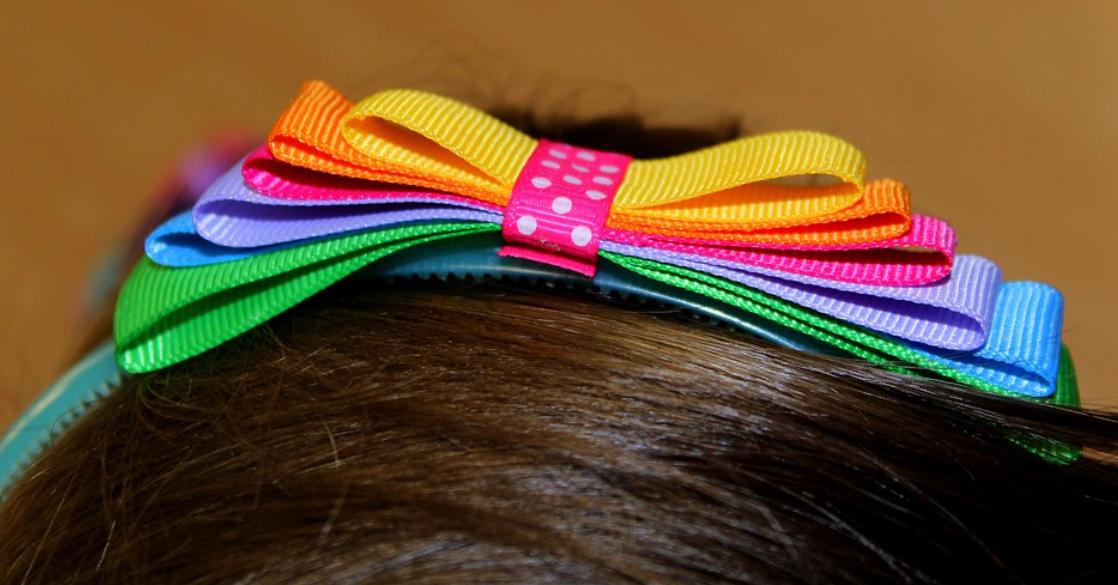 barevná čelenka