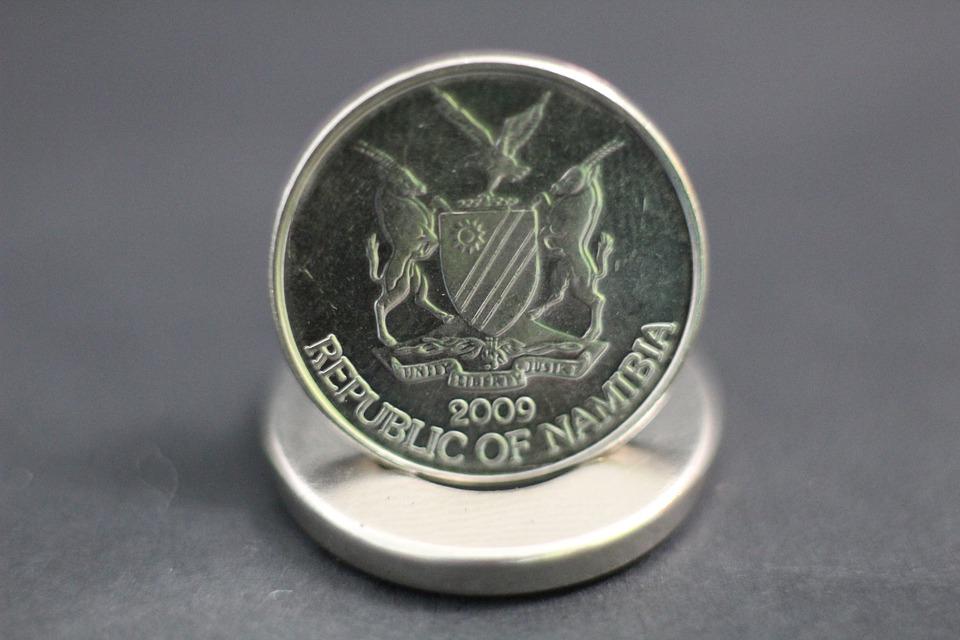 namibijská mince