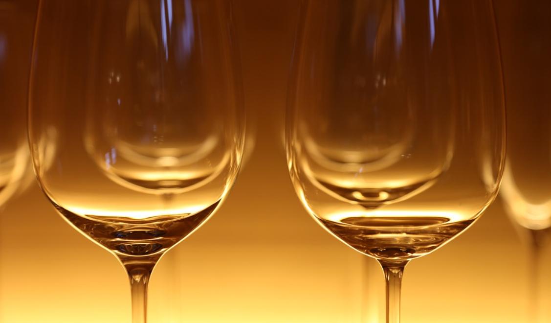 skleničky na víno